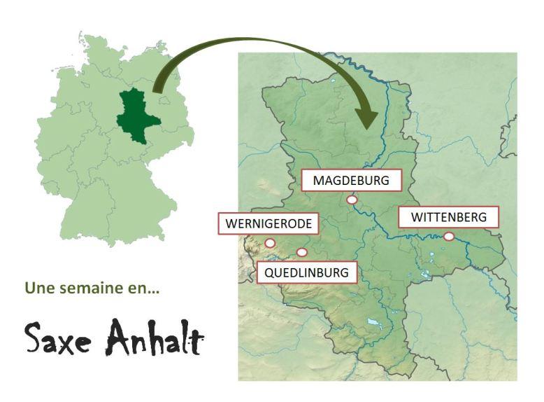 Une semaine en saxe Anhalt