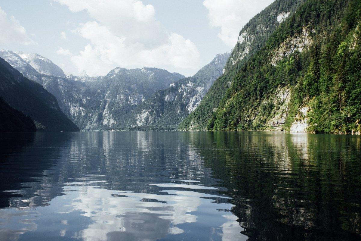 La route allemande des Alpes